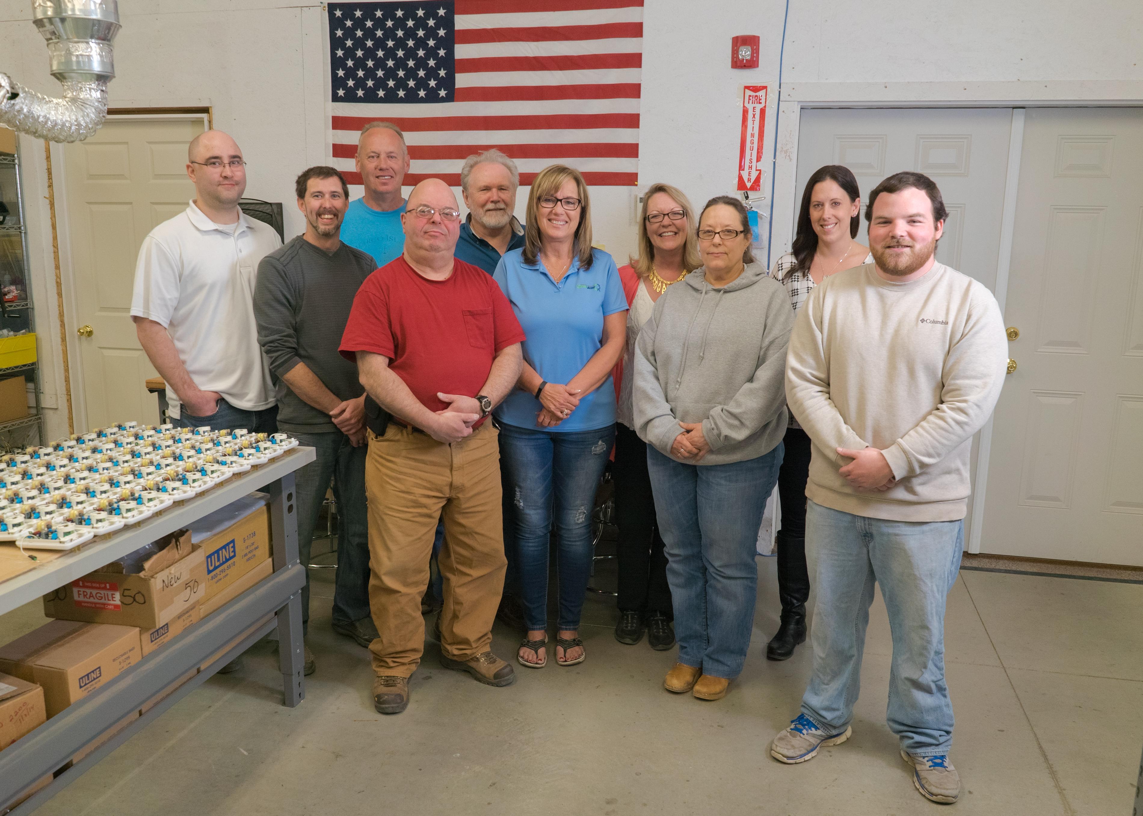 Ozone Generator Manufacturing Team